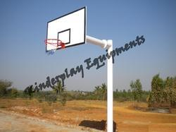 Single Pole Type Basket Ball Poles