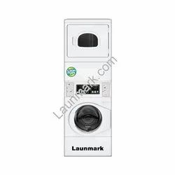 Stack Washer Gas Dryer 10.3 Kg Non Coin, For Laundry And Dry Cleaning