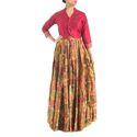 Ladies Silk Skirt