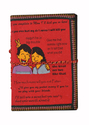 Handmade Paper Diary Journal With Childhood Conversation Brother Sister Gift