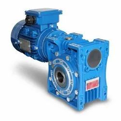 2 HP Single Phase Worm Geared Motor, Voltage: 280 V, 1400 RPM