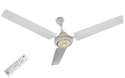 White Ceiling Fan With Remote