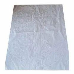 Polypropylene White PP Bag Large size, Storage Capacity: 50 Kg, 100 Kg, Size: 26 X 44, 44 X 54 Inch