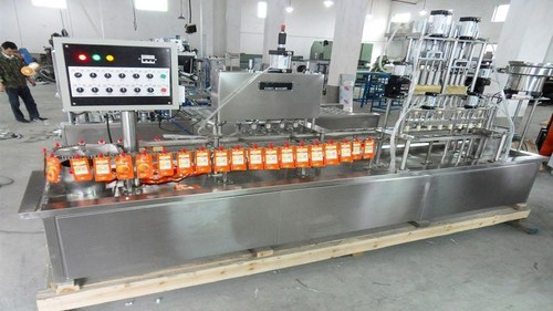 Automatic Juice Pouch Packaging Machine Durga Packaging