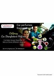 Car Perfumes Fragrances Oil