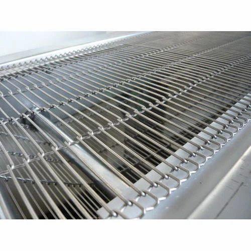 Wire Belt   Enrober Wire Belt Conveyor Belts B S Wirenetting Industries
