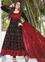 Black Ladies Designer Churidars