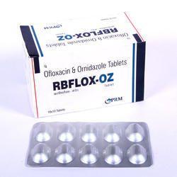 Ofloxacin 200mg, Ornidazole 500mg