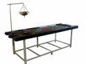 Shirodhara Arrangement Executive FRP Massage Table