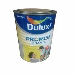 High Gloss Dulux Promise Enamel Paint, Packaging Type: Can