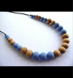 Wooden Ball Necklace, Party