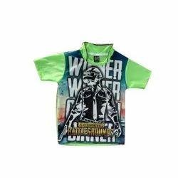 Polyester Kids Sports T Shirt