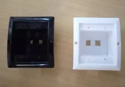 Plastic PVC COOLER SWITCH BOX, Modular Switch Box, for Electric Fitting