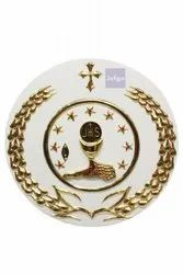 Jefgo Catholic Chalice And Wheat Tabernacle Box for Church, Size/Dimension: 10 Inch X 10 Inch