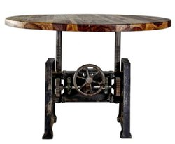 DIF-1410 Cast Iron Coaster Coffee Table