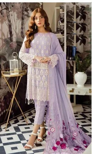 Fancy Palazzo Style Suit
