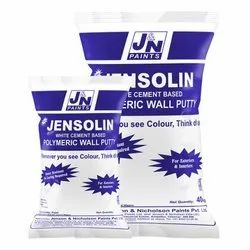 Jenson & Nicholson Jensolin White Cement Based Polymeric Wall Putty, Packaging Type: Sack