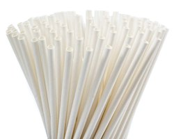 Colourless Paper Straw