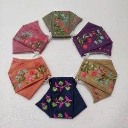 TORAN ART Reusable Fabric Face Mask, Number of Layers: 3 Layer