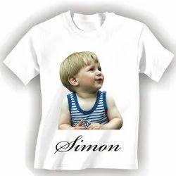 Cotton Formal Wear Printed T Shirt