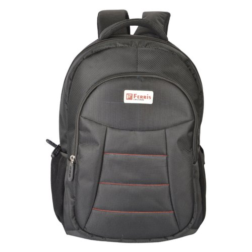 Ferris Black Laptop Bag