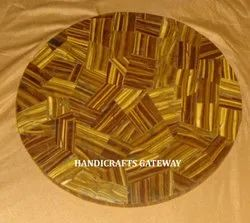 Natural Tiger Eye Table Top