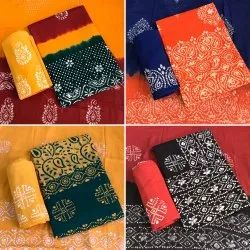 Unstitched Batik Salwar Suit