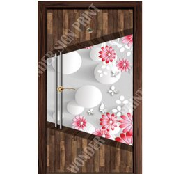 PVC Digital Membrane Door Print