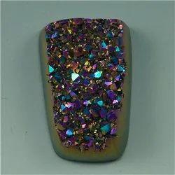 Titanium Druzy Stone