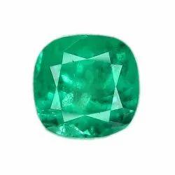 Cushion Cut Colombian Emerald