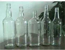 Tound Round Wisky Glass Bottle, Rauond, Size: 750 Ml