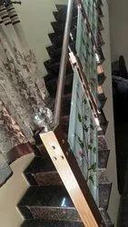 SSM51 Stainless Steel Glass Stair Railing