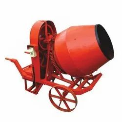 Trolley Type Able Electric Half Bag Concrete Mixer