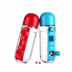Leak Proof JGZ 188 Water Bottle with Pill Box