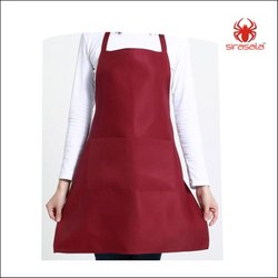 Plain Apron With Pocket