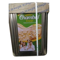 25L Chambal Fresh Refined Soyabean Oil, Packaging Type: Tin, Speciality: Low Cholesterol