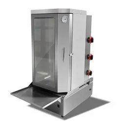 SS Shawarma Machine with Cabinet