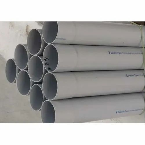 Hard Tube PVC Irrigation Pipe, 4 Kgf, For Water Irrigation