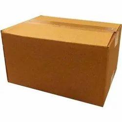 Single Wall - 3 Ply Brown Heavy Duty Corrugated Packaging Box, Box Capacity: 20-25 kg