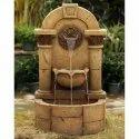 Modern Sandstone Wall Fountain