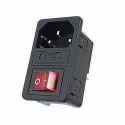 Power Socket With Fuse & On Off Switch EMI12