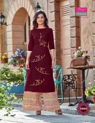 Diya Trends Bibas Vol 2 Kurti With Palazzo Set Clothing Store
