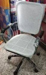Sakthi Black, White Cane Wire Chair