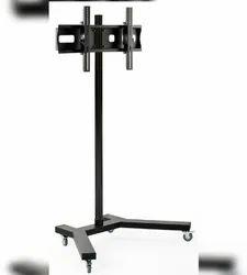JBM Groups Mild Steel LED TV Floor Stand Trolley, Warranty: 1 Year