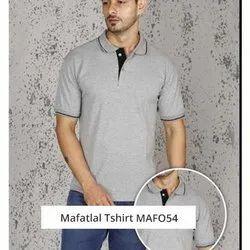 Cotton MAFO54 Mafatlal Gray T Shirt