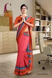 Office Uniform Wear Sarees