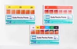 Gutta Percha Points 4%