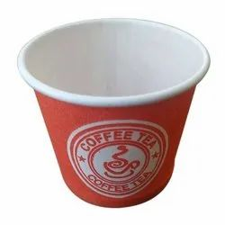Printed Disposable Coffee Paper Cup, Capacity: 150 ML