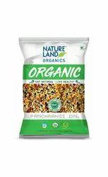 Natureland Organic Panchrangi Dal, Packaging Size: 500 G