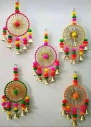 Decoration Rings with Pom Pom Bells